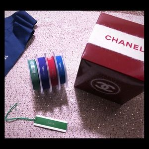 CHANEL ribbon spool